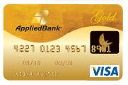 Applied Bank  9.99% Secured Visa Card