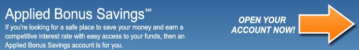 Applied Bonus Savings®