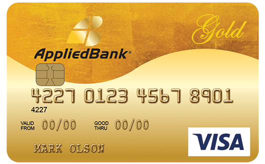 Applied Bank Visa Credit Card