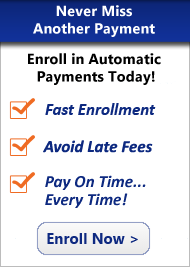Enroll in Automatic Payments Today!